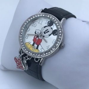 Disney Watch Mickey Mouse Women Wrist Watch Black